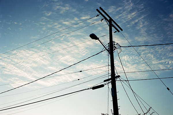 silhouette, wires, sky, juuuuicy