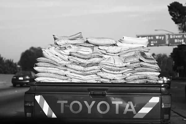 truck, toyota, highway, los angeles, harrison boyce
