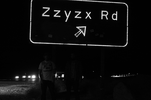 zzyzx, highway, road, jim bauer, stephan campbell, juuuuicy