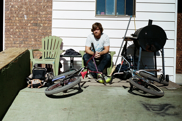 jim bauer, matt beringer's house, chill, bikes, utah, juuuuicy