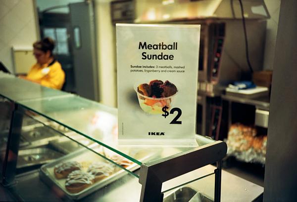 meatball, meatball sundae, ikea, potentially disgusting, juuuuicy