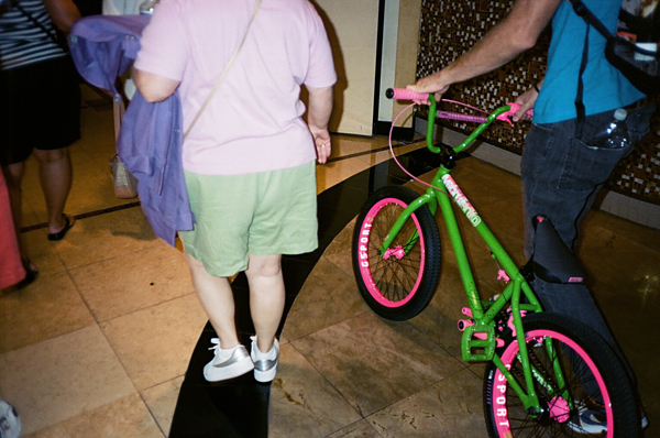 aaron ross, bmx, interbike, sunday, watermelon, green, pink, juuuuicy