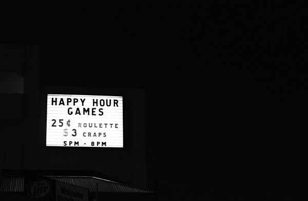las vegas, happy hour games, sign