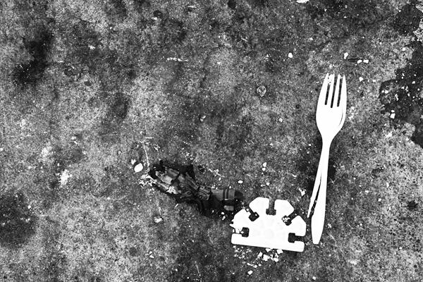 ground, concrete, crayon, fork, nuno oliveira, juuuuicy