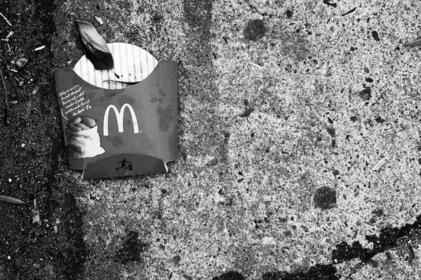 ground, concrete, mcdonalds, fries, juuuuicy