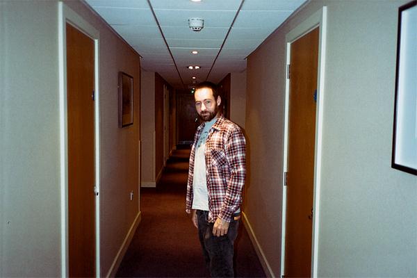 brian tunney, england, hotel, hallway