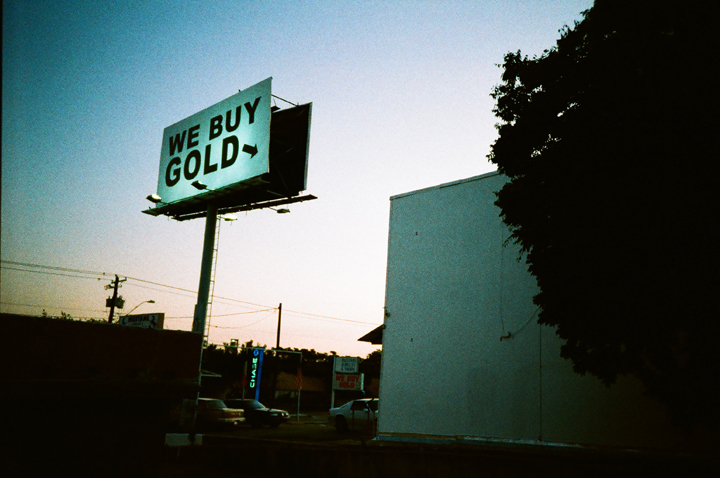 gold, austin, billboard
